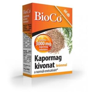 BIOCO KAPORMAG KIVONAT TABLETTA KRÓMMAL   60DB