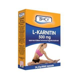 BIOCO L-KARNITIN KAPSZULA   60DB