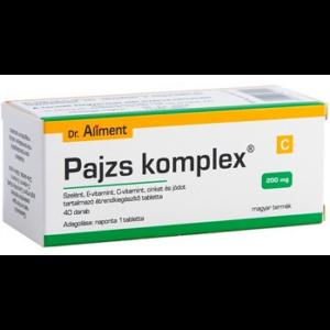 DR. ALIMENT PAJZS KOMPLEX TABLETTA 40DB