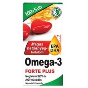DR. CHEN OMEGA-3 FORTE PLUS KAPSZULA 105DB