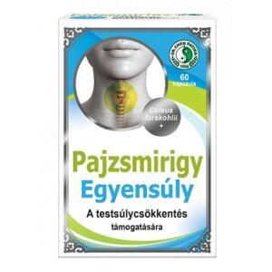 DR. CHEN PAJZSMIRIGY EGYENSÚLY KAPSZULA 60DB