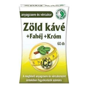 DR. CHEN ZÖLD KÁVÉ + FAHÉJ + KRÓM KAPSZULA   60DB