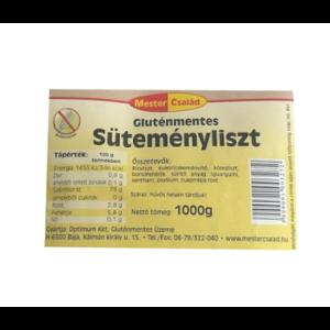 MESTER CSALÁD GLUTÉNMENTES SÜTEMÉNYLISZT     1000g