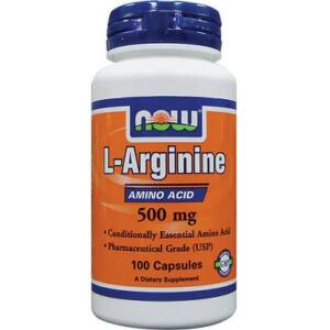 NOW L-ARGININE 500MG KAPSZULA   100db