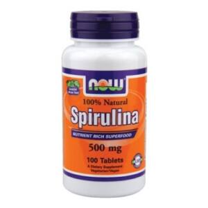 NOW SPIRULINA TABLETTA   100DB