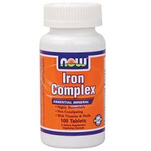NOW IRON COMPLEX TABLETTA   100DB