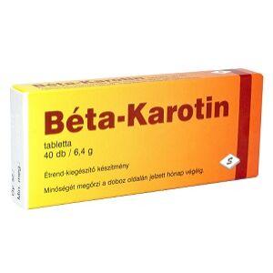 SELENIUM BÉTA-KAROTIN TABLETTA  40DB