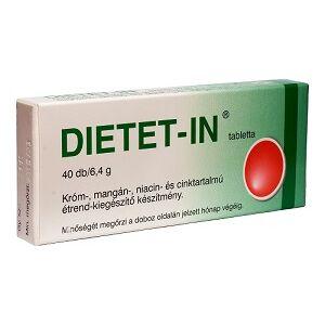 SELENIUM DIETET-IN TABLETTA, 40 db