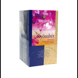 SONNENTOR GYÖMBÉR TEA 20 FILTER     20g