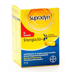SUPRADYN ENERGIA 50+ FILMTABLETTA 30DB