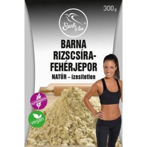 SZAFI FREE  BARNA RIZSCSÍRA-FEHÉRJEPOR NATÚR   300g