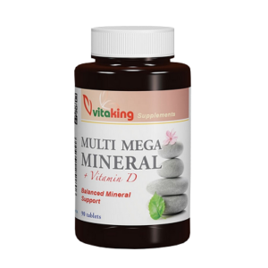 VITAKING MULTI MEGA MINERAL +VITAMIN D TABLETTA 90DB