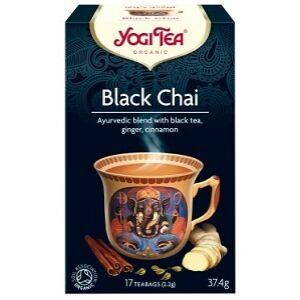 YOGI TEA FEKETE CHAI TEA 17x2G