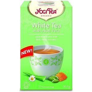 YOGI TEA FEHÉR TEA ALOE VERÁVAL  17x1,8g