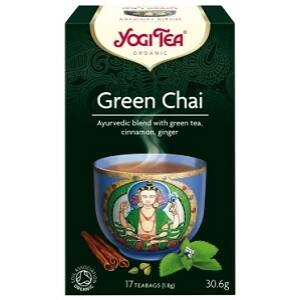 YOGI TEA ZÖLD CHAI TEA  17x2G