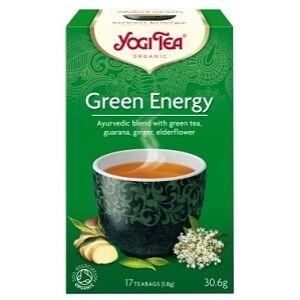 YOGI TEA ZÖLD ENERGIA TEA 17x2G