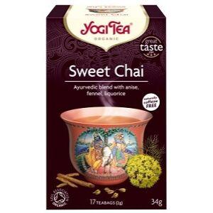 YOGI TEA ÉDES CHAI TEA 17x2G