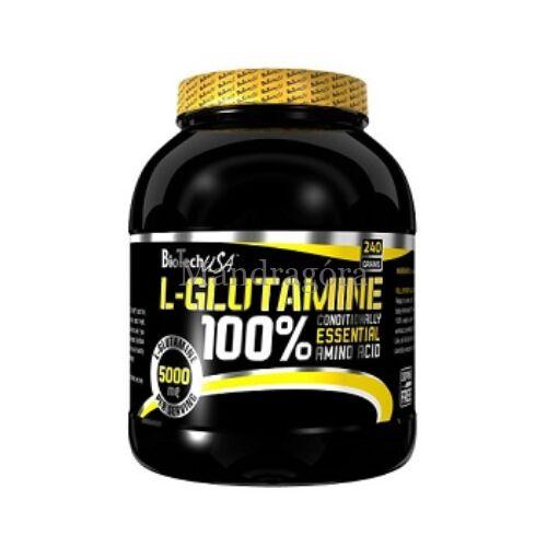 BIOTECH L-GLUTAMINE   240g