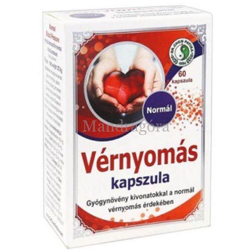 DR. CHEN NORMÁL VÉRNYOMÁS KAPSZULA 60DB