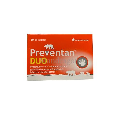 PREVENTAN DUO TABLETTA  30DB