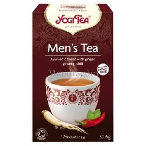 YOGI TEA FÉRFI TEA   17x1,8G